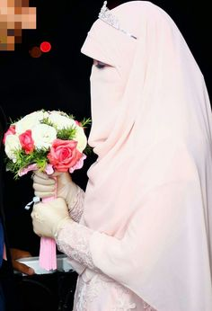 Hijab# marriage# bride