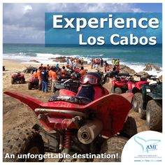 #LosCabos #Mexico is an unforgettable destination. Imagine exploring the natural beauties of #Cabo from the seat of an all terrain vehicle, commonly known as an #ATV