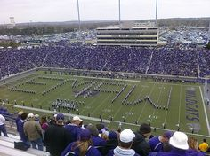 THE PRIDE OF WILDCAT LAND!!!!!!! THE KANSAS STATE UNIVERSITY MARCHING BAND!!!!!!!!!
