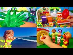 ぽぽちゃん おもちゃアニメ 旅館に泊まったよ❤温泉 Toy Kids トイキッズ animation anpanman Baby Doll Popochan - YouTube