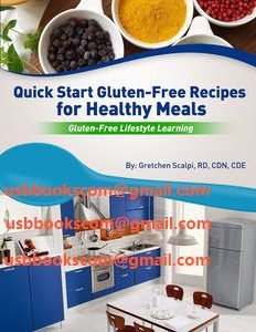 4368 Quick Start Gluten-Free Recipes for Healthy Meals Gluten-Free Lifestyle Learning   相片擁有者 usbbookscom
