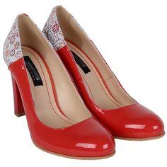 Pantofi din Piele Naturala Blossom