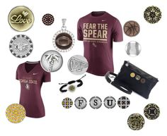 """""""Casual """"Fear the Spear"""" accessories"""" by suzyquf ❤ liked on Polyvore featuring NIKE, women's clothing, women, female, woman, misses and juniors"""