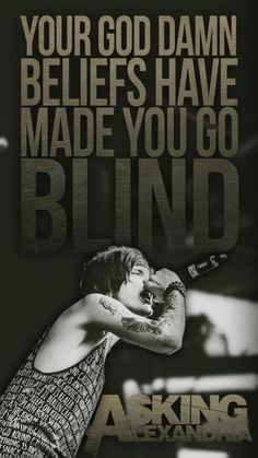 Undivided- Asking Alexandria.the countdown is on! Band Quotes, Lyric Quotes, Asking Alexandria Lyrics, Emo, Ben Bruce, Rock Y Metal, Mayday Parade Lyrics, The Amity Affliction, Rock Bands