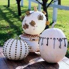 Steampunk pumpkins