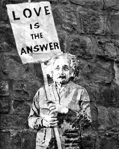 Love is the Answer Photograph - Banksy Photography Print - Black and White Wall Art. Love truly is the answer. Photograph of Banksy street art found on our honeymoon stop in St. Barth's. Very relevant and a sharp and modern urban print in classic black and white. Photograph available in larger sizes and is sold unframed and unmatted. A sweet Valentines gift for someone special.