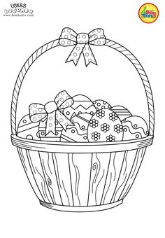 Easter coloring pages - Uskrs bojanke za djecu - Free printables, Easter bunny, eggs, chicks and more on BonTon TV - Coloring books Quote Coloring Pages, Easter Coloring Pages, Coloring Sheets For Kids, Printable Adult Coloring Pages, Colouring Pages, Coloring Books, Easter Egg Template, Montessori Art, Easter Crafts