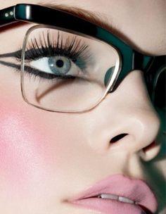 Those fake eye lashes are amazing