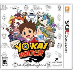 YO-KAI WATCH 3DS. Hundreds of sometimes spooky, sometimes cute and usually mischievous Yo-kai secretly inhabit our world. From flaming feline Yo-kai to three-headed bosses, they're hiding everywhere!