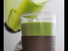 Sweet Green Monster Smoothie Recipe | Divas Can Cook