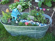 Cute garden idea!