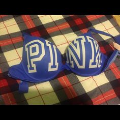 Pink bra 34b used a couple of times PINK Victoria's Secret Other