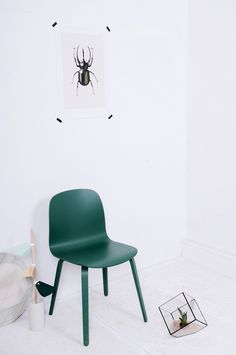 Via Baronesso | Muuto Visu Chair | Hagendorn Hagen | White