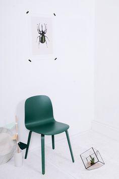 Via Baronesso | Muuto Visu Chair | Hagendorn Hagen | White