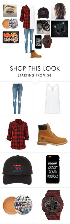 """Untitled #27"" by ladymist09 on Polyvore featuring Under Armour, Full Tilt, Timberland, Paul & Joe and G-Shock"