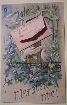 1907 Vintage Postcard