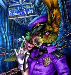 The bad guide / Springtrap FNaF by Mizuki-T-A on DeviantArt My Little Pony, Creepy Clown, Creepy Stuff, Random Stuff, Fnaf Sl, William Afton, Freddy 's, 2 Kind, Fnaf Sister Location