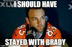 Welker wishes he stayed