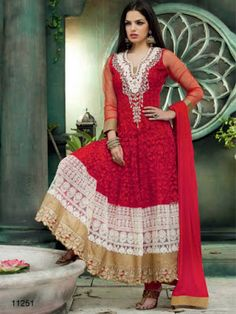 Frock Suit Designs With Indian Pricehttp://www.fashioncluba.com/2017/04/indian-anarkali-suit-designs-for-casual-wear.html