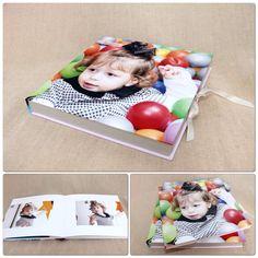 Álbum festinha infantil + caixa fotográfica para conservar o álbum. Diagramação All Pictures @allpictures2011 #designdealbum #festinhainfantil #caixafotografica #album