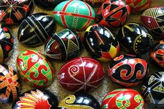 I have not made Polish Easter Eggs in several years but am determined to try to do so this year.