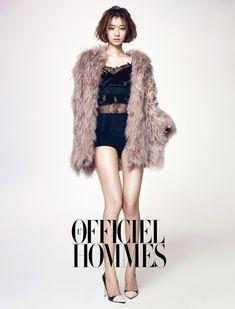 L'Officiel Hommes, 2013.12, Go Jun Hee