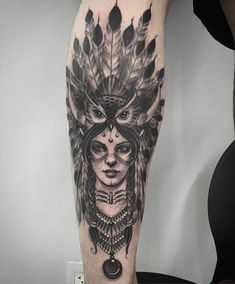 Tattoo leg tribal native american ideas - Tattoo leg tribal native american ideas The Effective Pictures We Offer You About tatto - Trendy Tattoos, Cute Tattoos, Unique Tattoos, Tattoos For Women, Tattoos For Guys, Calf Tattoo, Forearm Tattoos, Body Art Tattoos, Female Leg Tattoos