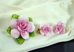 Vintage Coalport Fine Bone China Flower by JewelryCreatedForYou, $45.95