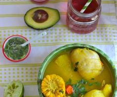 Sancocho is a common Colombian dish that you can make with fish, plantain, beef, chicken, pigeon peas or pork. Sancocho de gallina or Sancocho Valluno is Colombian Dishes, Colombian Cuisine, Colombian Recipes, Colombian Culture, Cuban Recipes, Soup Recipes, Cooking Recipes, Dinner Recipes, Dominican Food