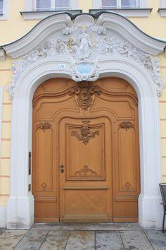 A doorway in Dresden Germany