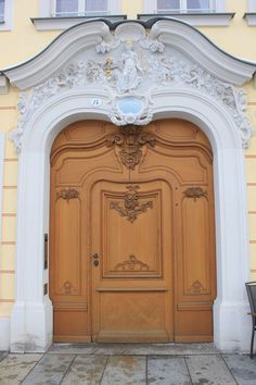 A doorway in Dresden Germany