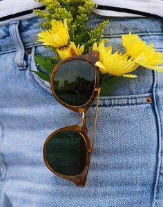 KAIBOSH   BIBLIO REMIX in HONEY GLAZE. Get yours now on www.kaibosh.com Honey Glaze, Eyewear, Round Sunglasses, You Got This, Collection, Eyeglasses, Round Frame Sunglasses, Its Ok, Sunglasses