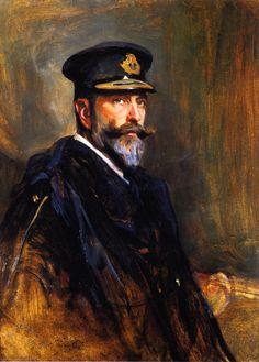 H.S.H. Prince Louis of Battenberg  Philip Alexius de László - 1910