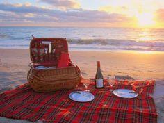 Picnic on the beach at sunset, perfect! Palm Island Resort (Cape Haze, FL) - ResortsandLodges.com