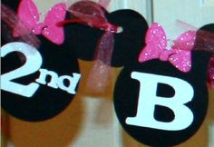 Minnie Mouse Another Banner Idea