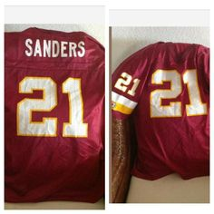 Deion sanders champion redskins football jersey #football #nfl#redskins
