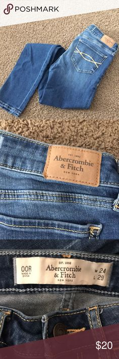 Abercrombie jeans Gently used jeans Abercrombie & Fitch Jeans Skinny