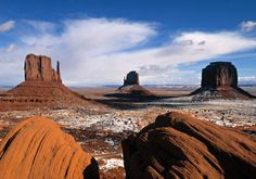 Monument Valley Arizona and Utah