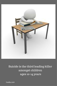 Suicide in kids is on the increase how can you help and speak to your child? #suicide #children #kids #help