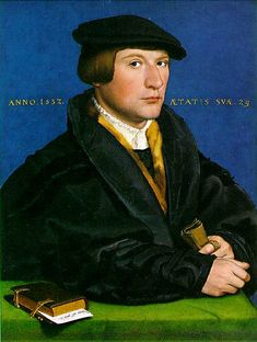 Portrait of a Member of the Wedigh Family by @artistholbein #northernrenaissance