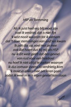 HSP en Stemming  #hsp #stemming http://thuisinmijnlichaam.nl/
