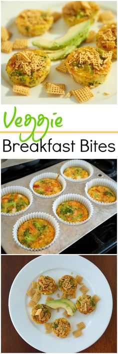 Veggie Breakfast Bites - Clean Eating Breakfast that's fast to make ahead - gluten free, dairy free