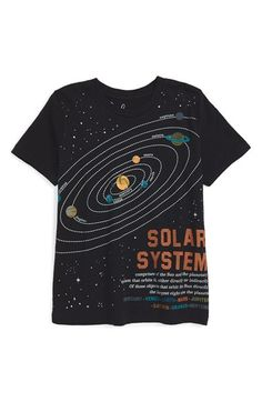 Free shipping and returns on Peek 'Solar System' Graphic T-Shirt (Toddler Boys, Little Boys & Big Boys) at Nordstrom.com. An astronomically cool T-shirt featuring cosmic graphics on the front and back is sure to be an instant favorite for your aspiring scientist or astronaut.