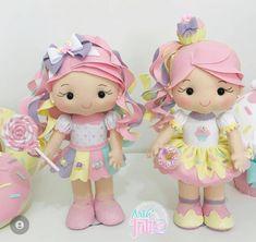 Birthday Celebration, Birthday Parties, Art Of Charm, Arts And Crafts, Diy Crafts, Doll Dress Patterns, Felt Dolls, Baby Toys, Princess Peach