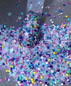 Glitter Mix Acrylic Gel Nail Art Candy Store Limited Edition | eBay
