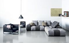 New fabrics for modular sofa PIXEL By Saba Italia www.sabaitalia.it