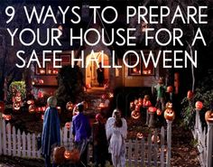 Great tips to keep everyone safe this fun night!