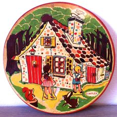 Vintage toys; Hansel and Gretel puzzle