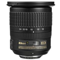 Nikon 10-24mm: Wide-angle lens - USED at Adorama