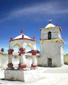 Torre  Iglesia de Parinacota